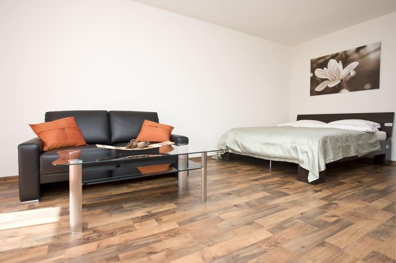Möbliertes Apartement nähe Flughafen inkl. Wäschewechsel
