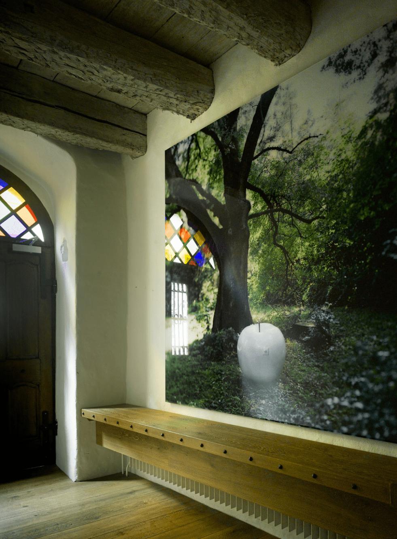 Kunst am Bau im Eingangsbereich - Vorschau