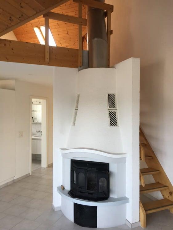 Schöne Und Helle 4.5 Zimmer Maisonette Wohnung Mit Cheminèe Zu Vermieten