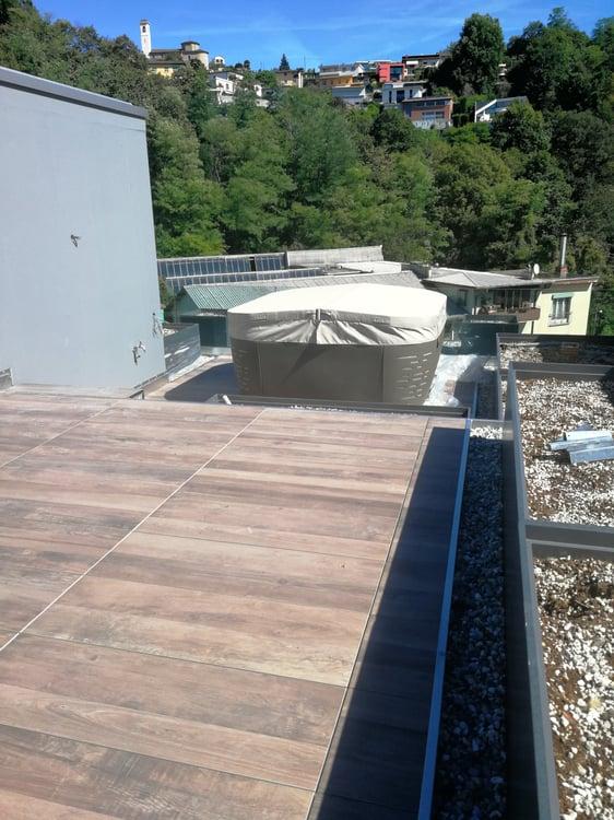 Attico 3.5 locali con terrazzo sul tetto e vasca idromassaggio ...