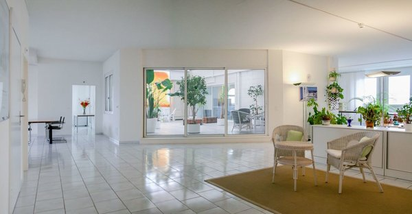 Helles Loft Penthouse Wohnen Buro Reinach Bl Rent Loft