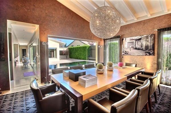 Villa contemporaine de standing avec piscine à Borex (VD), Borex ...