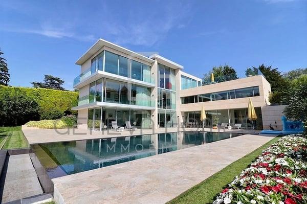 Splendide maison contemporaine, Cologny | Einfamilienhaus kaufen ...