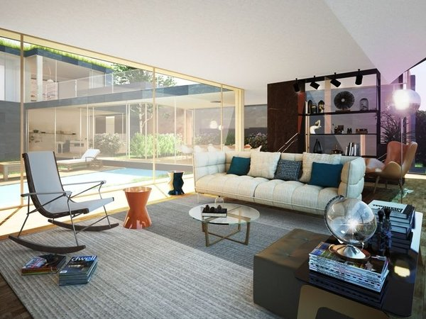 Luminosa e spaziosa villa moderna in esclusiva zona residenziale ...