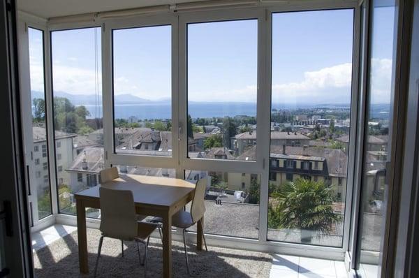 Magnifique 2 5 pièces vue imprenable balcon véranda lausanne