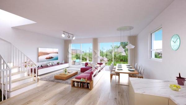 Dernière villa - pignon avec jardin, Bellevue | Einfamilienhaus ...