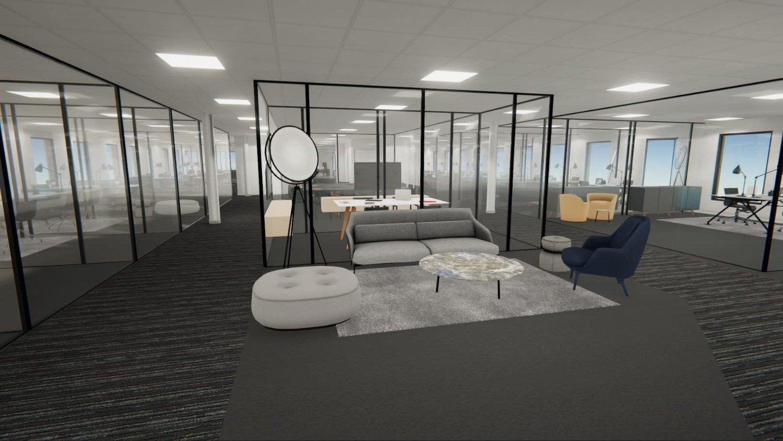 À louer surfaces de bureaux de 8500 m2 divisible dès 500 m2