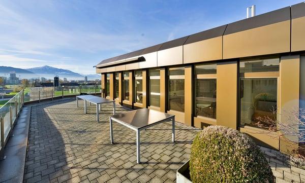 Geschäftshaus Neuhof Attika Terrasse Inklusive Baar Rent Office