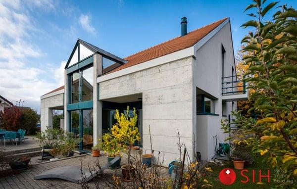 Yverdon immergée dans la nature villa individuelle contemporaine