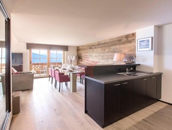 Appt 03 - 3.5 pièces en chalet résidentiel, Crans-Montana | Wohnung ...