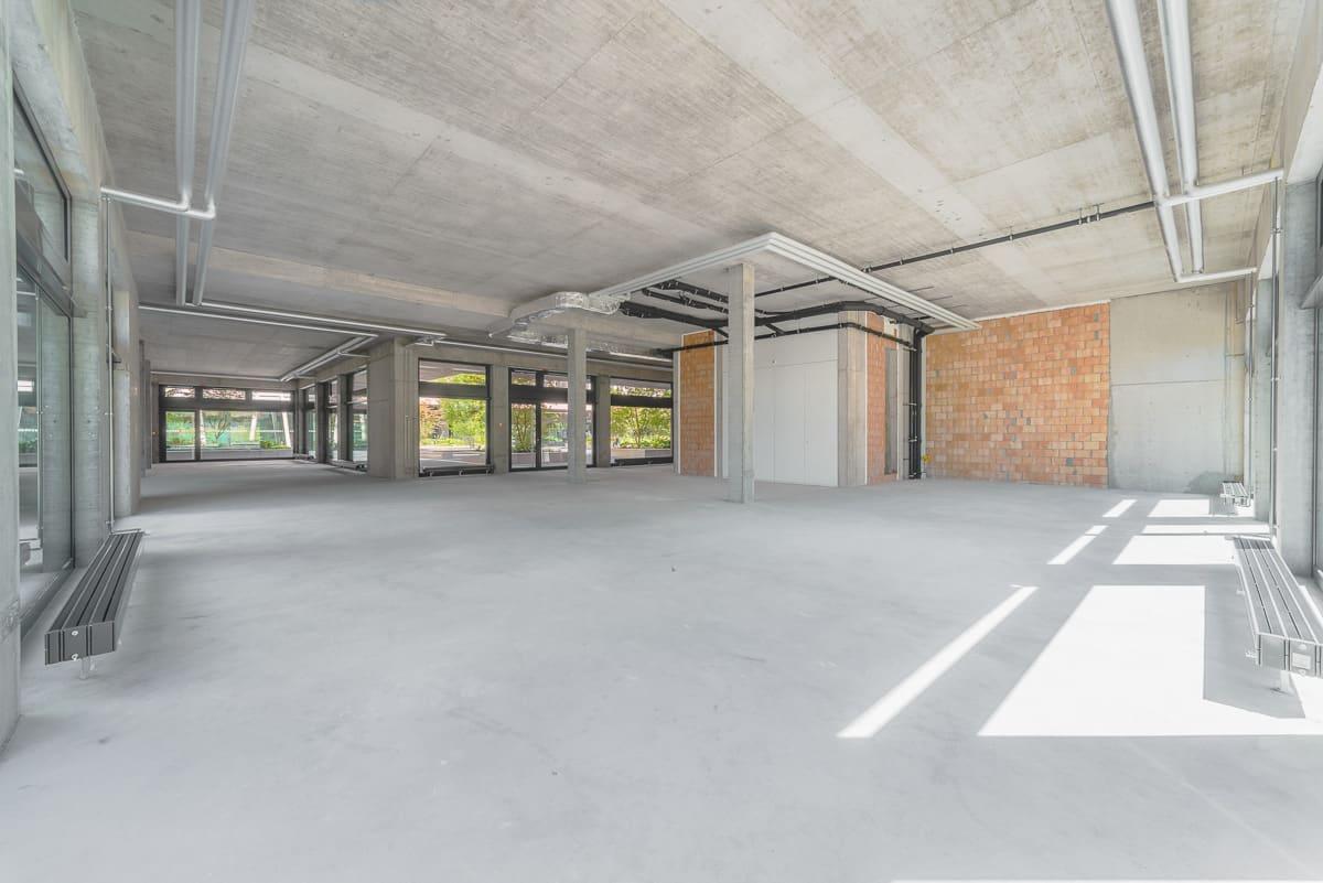Miete: attraktive Ladenflächen im neuen Salmenpark