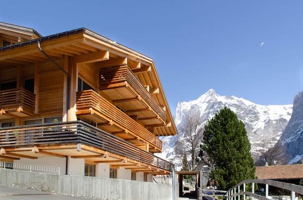 Moderne 2.5-Zimmerwohnung, Chalet Granat, Grindelwald | Wohnung ...
