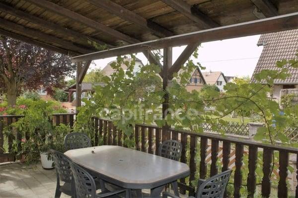Dpt Haut-Rhin (68), à vendre ROSENAU maison P7 de 150,93 m² - Terrain