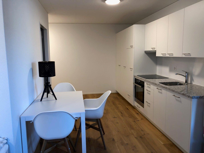 Miete: hele möblierte Wohnung mit Gartensitzplatz