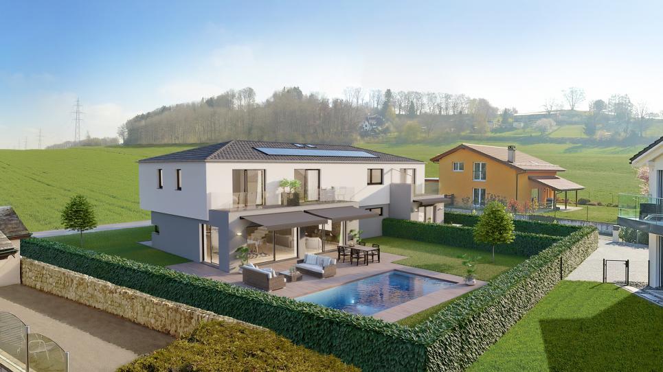2.5-Zimmer Doppeleinfamilienhaus 1033 Cheseaux-sur-Lausanne kaufen ...