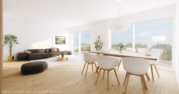 Ecoteaux, Maison de 5,5 pcs 206m2 avec 245m2 de jardin lot 8