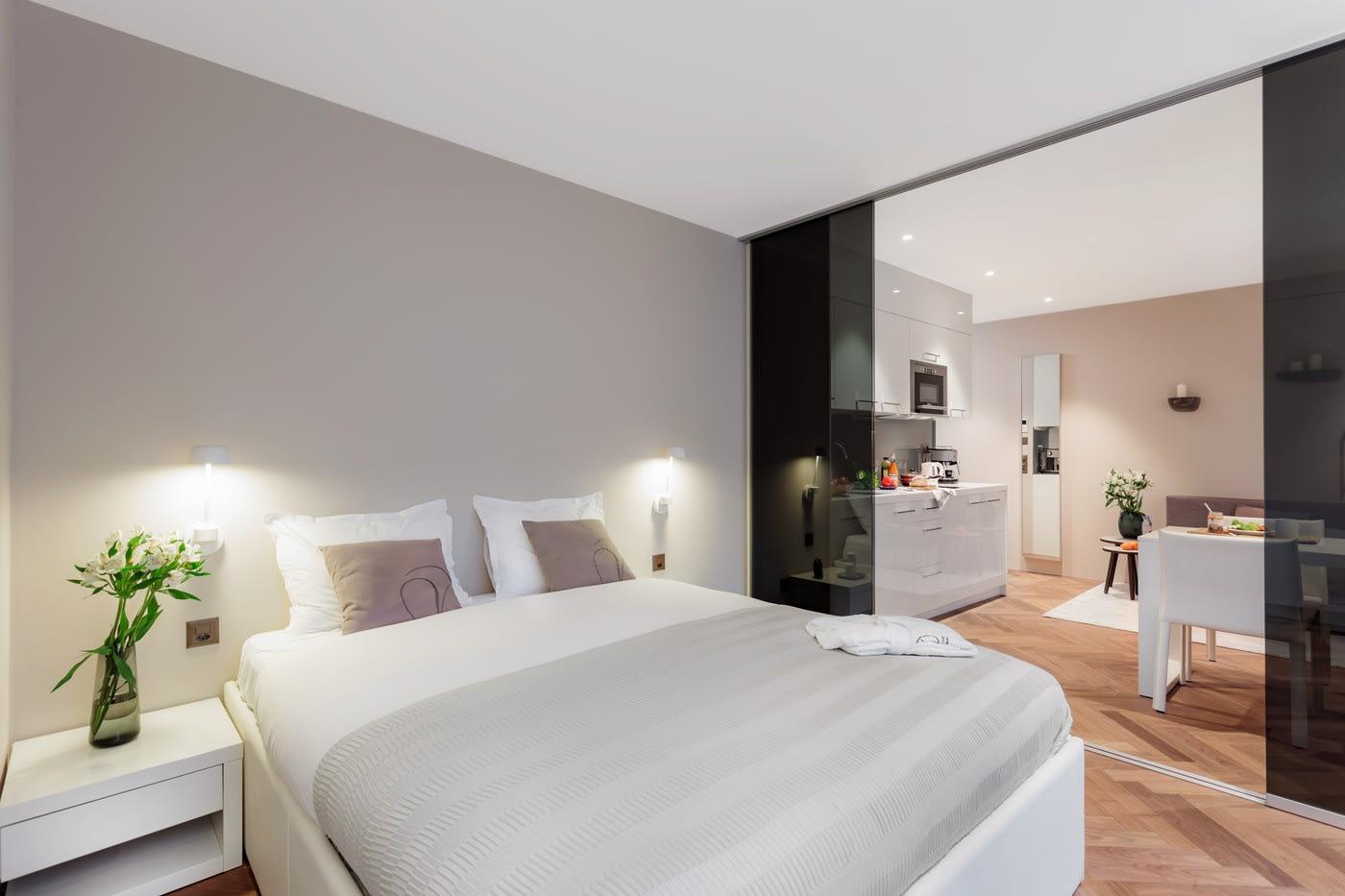 2-Rooms Furnished dwelling 8002 Zurich rent Bellariastrasse 36