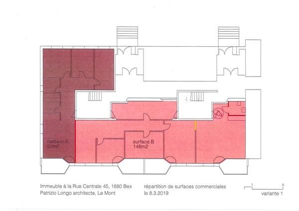 Ufficio 1880 Bex affitta Rue Centrale 45 - ImmoStreet ch