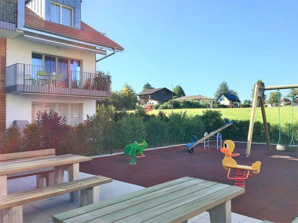 Appartement moderne de plain-pied avec terrasse et jardin ...