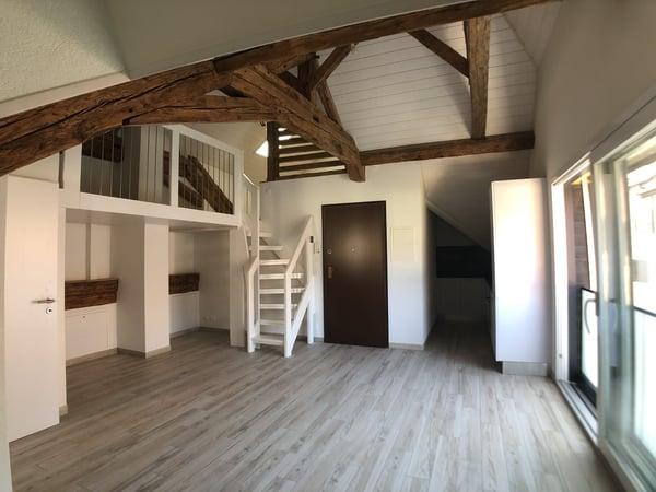Grand 1.5 pièce avec mezzanine