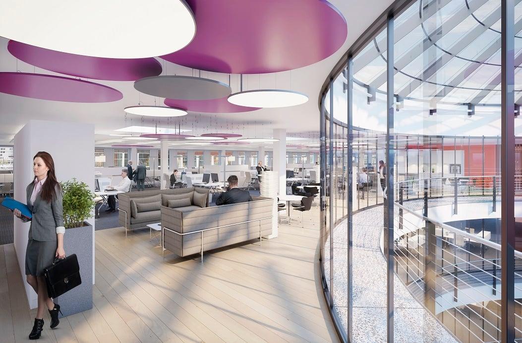 Miete: ausgebaute und bezugsbereite Büros
