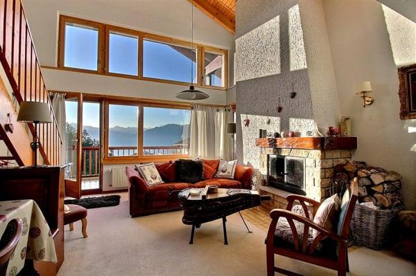 Magnifique attique de 5 pièces avec mezzanine